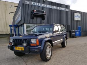 Jeep cherokee 1994 blauw