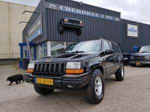 Jeep grand cherokee 4.0 zwart