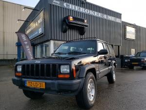 Jeep cherokee 1998 zwart lpg