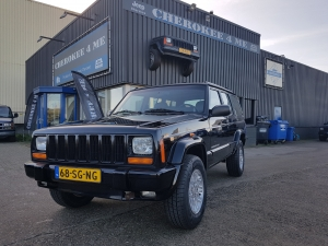Jeep cherokee 1998, lekkere km stand.