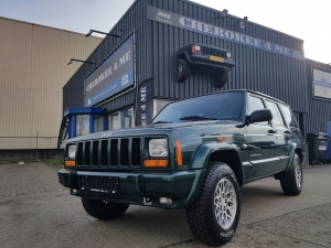 Jeep cherokee 2000, Groene alleskunner uit de Franse alpen