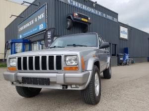 Jeep cherokee 2001, wijze grijze zwitser