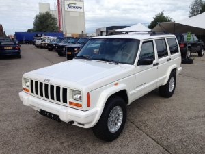 Jeep Cherokee 2001 wit